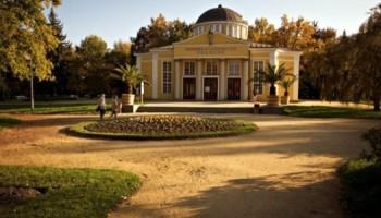 Františkovy Lázně a lázeňský park