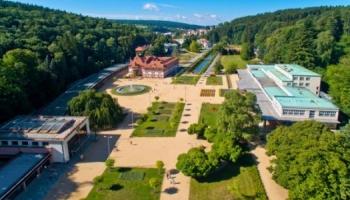 Lázeňský dům Praha v těsné blízkosti parku