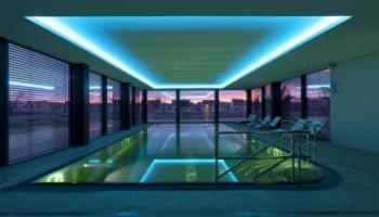 Bazén ve Spa Resortu Lednice